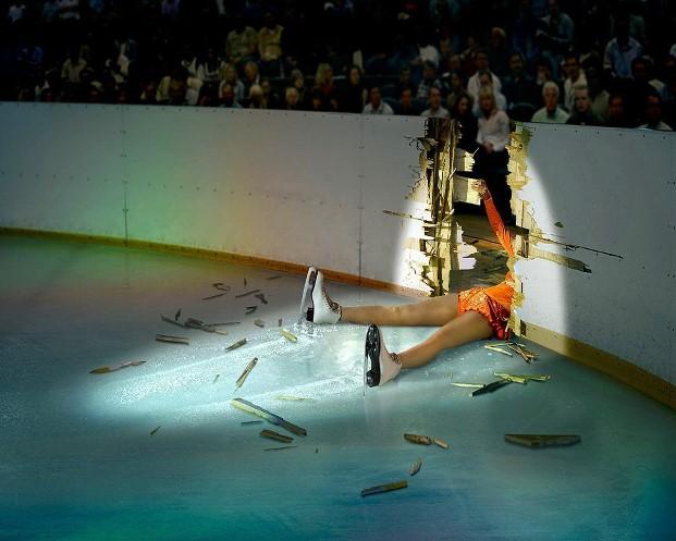 Pattinare sul ghiaccio è pericoloso... ma sono ottimista!