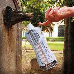 Nasce Eco-Water, bottiglietta ecologica per turisti e non