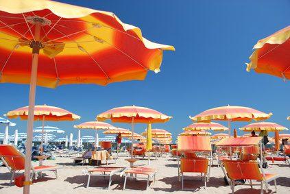Spiaggia romagnola