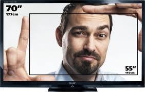 gratis tv 70 pollici