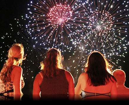 Con la crisi, i fuochi d'artificio diventano virtuali
