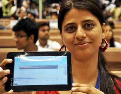 """Nasce il tablet low-cost """"made in India"""""""