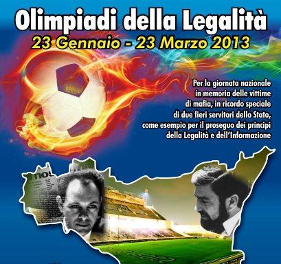"""Arrivano a Palermo le """"Olimpiadi della Legalità"""""""