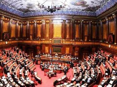 S del senato il pareggio di bilancio in costituzione for Il parlamento italiano