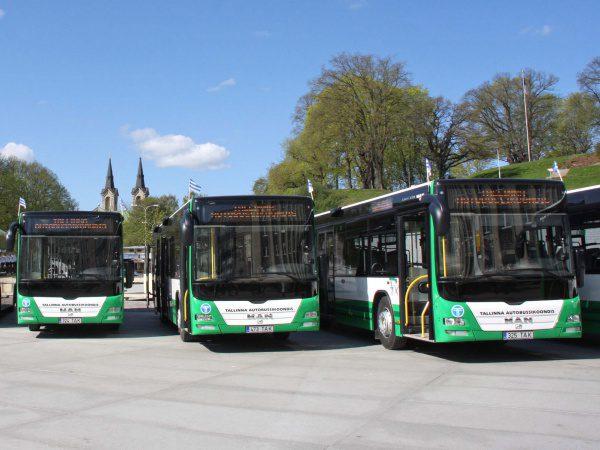 Estonia: bus e tram gratuiti nella capitale