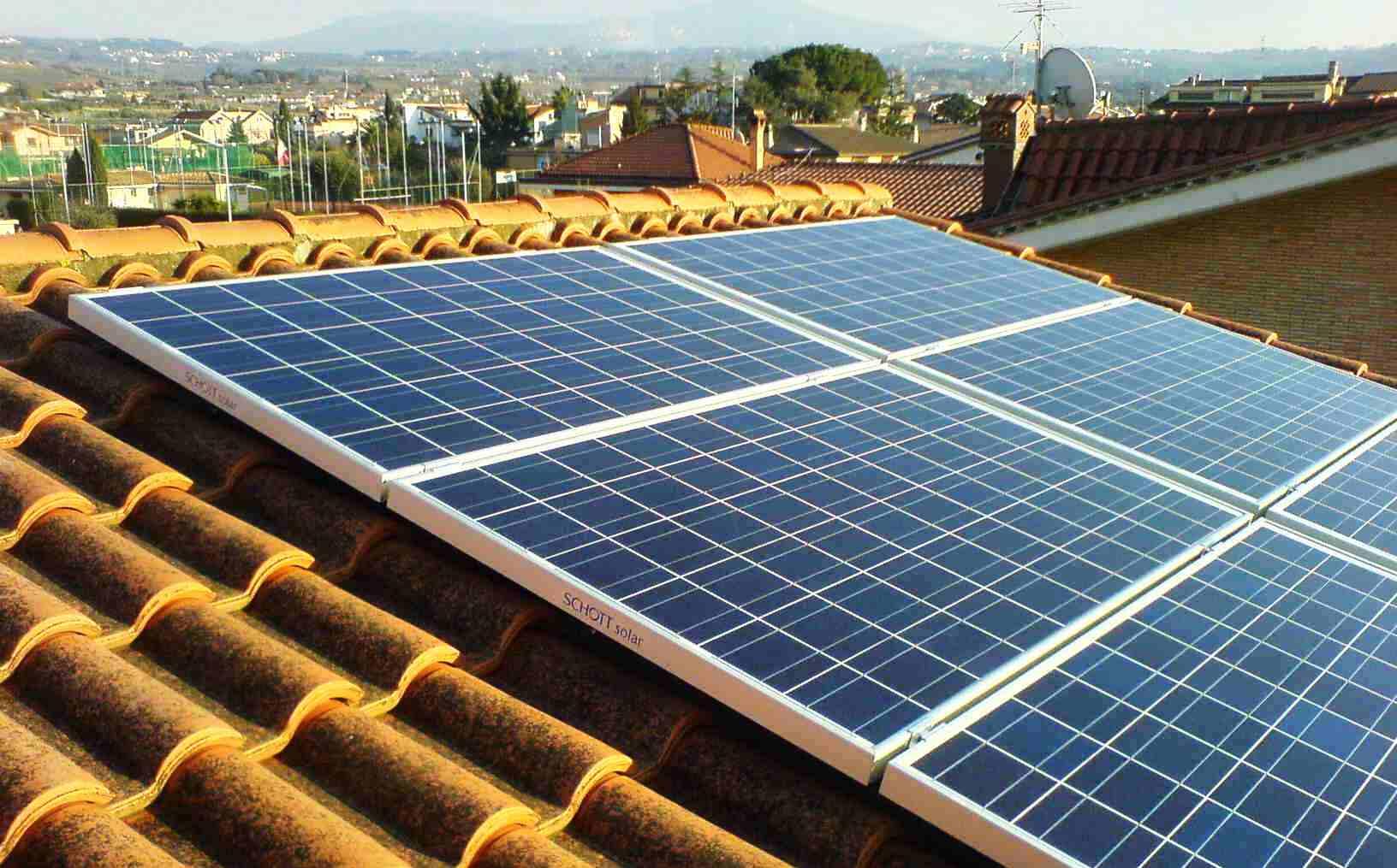 Fotovoltaico: la Germania incentiva i piccoli impianti domestici