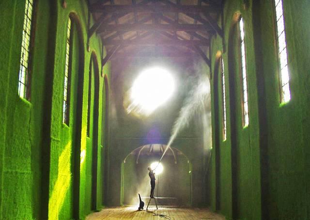 A Milano la prima chiesa green d'Italia