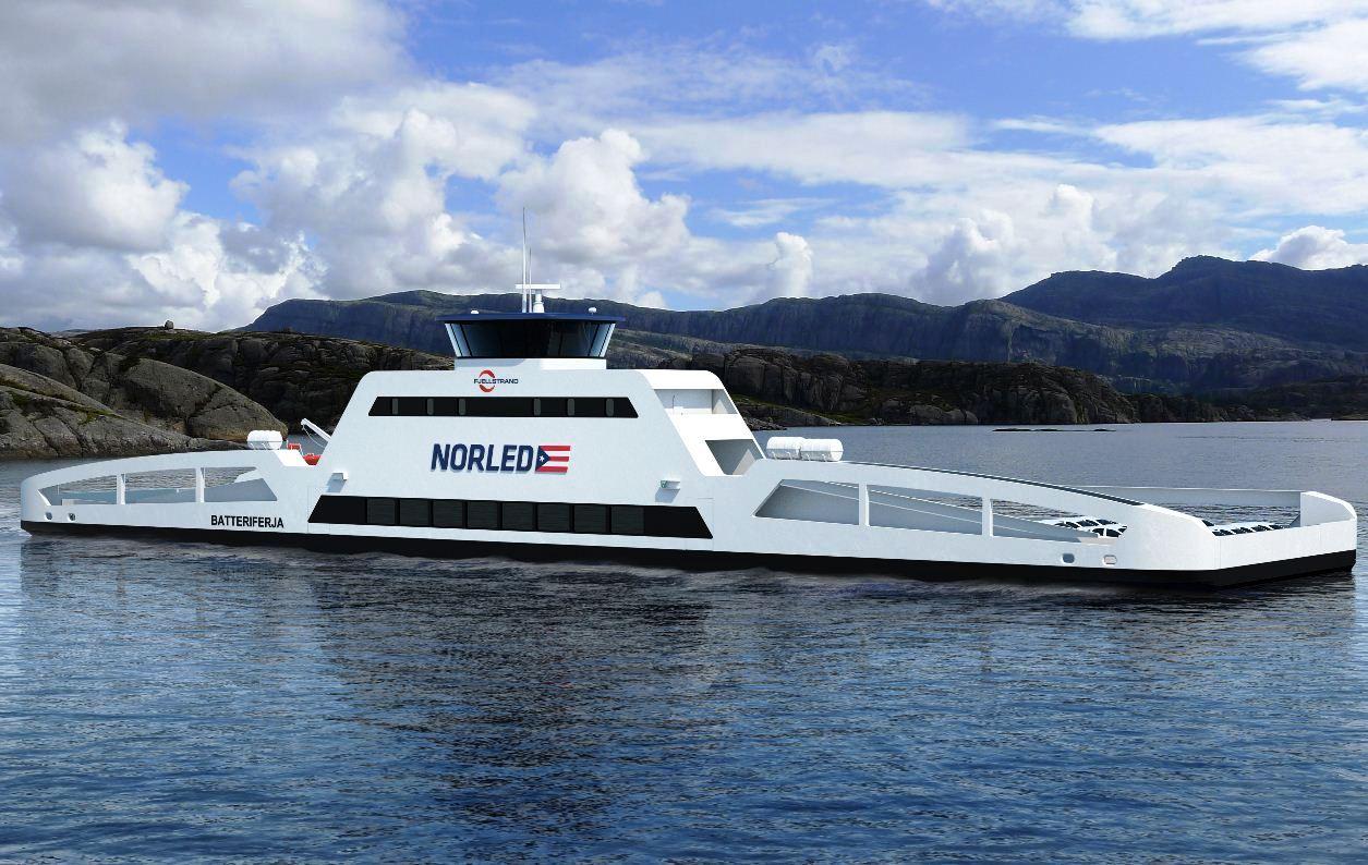 Norvegia: nasce il primo traghetto elettrico del mondo