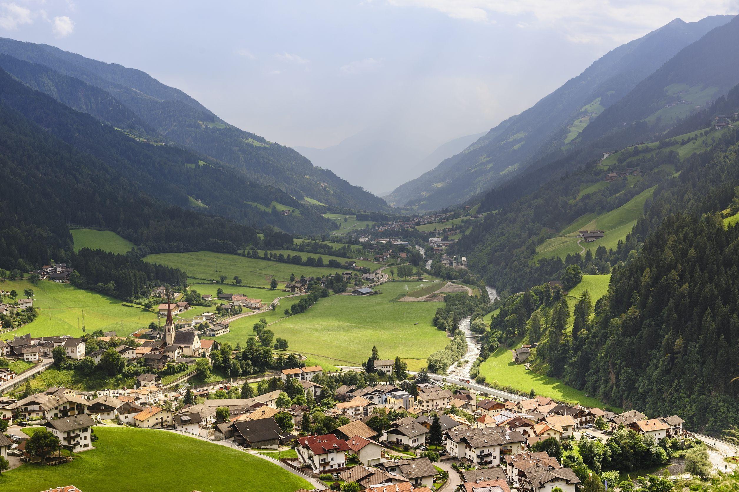 Le silenziose strade di Bolzano
