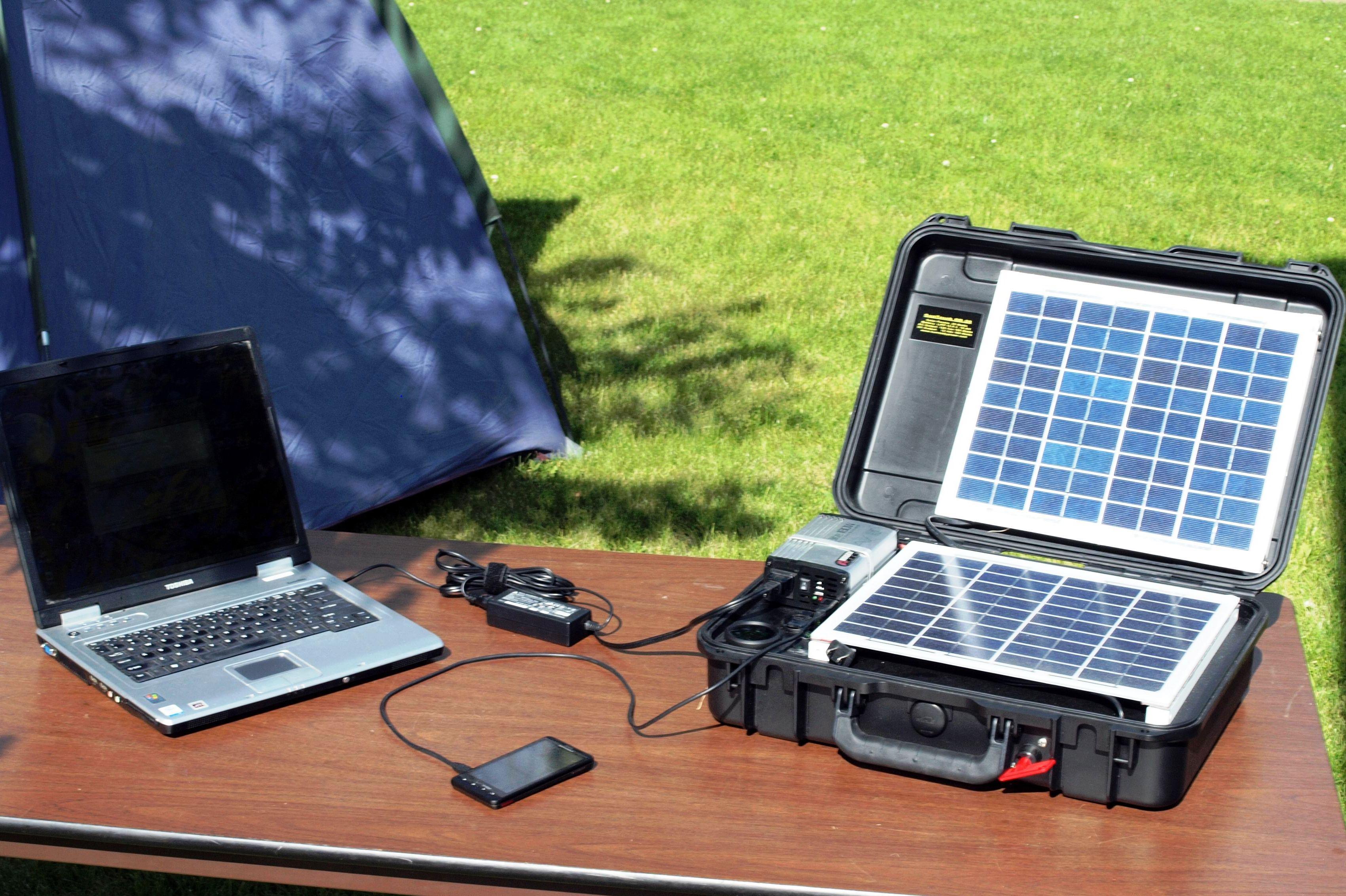 Fotovoltaico portatile l 39 energia in una valigetta - Fotovoltaico portatile ...