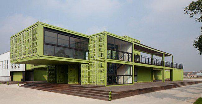 """Architettura sostenibile, quando il container diventa """"farm"""""""