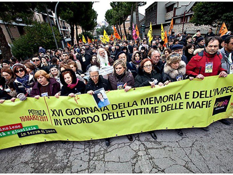 Vittime di mafia: a Firenze, la 18a Giornata della memoria e dell'impegno