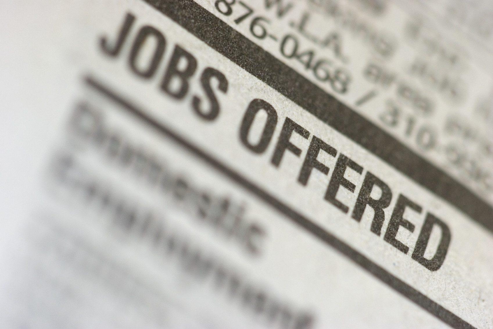 Usa in crescita, creati 236.000 posti di lavoro