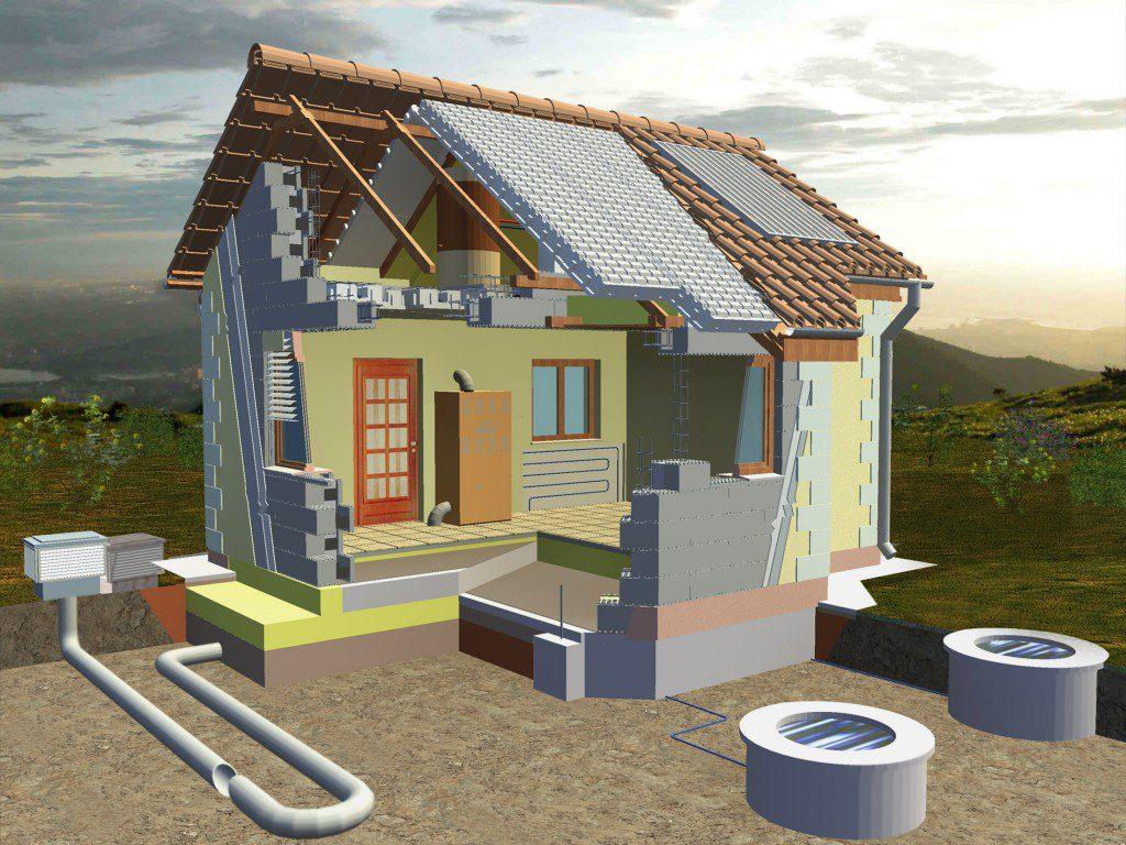 green building passive house or zero