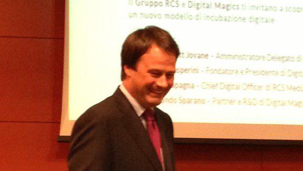 Pietro Scott Jovane, a.d. del Gruppo RCS