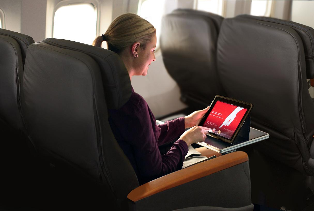Smartphone, ebook e tablet sempre accesi anche in volo