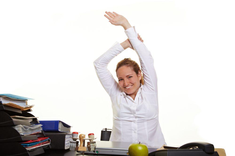 Postura corretta e fitness da scrivania