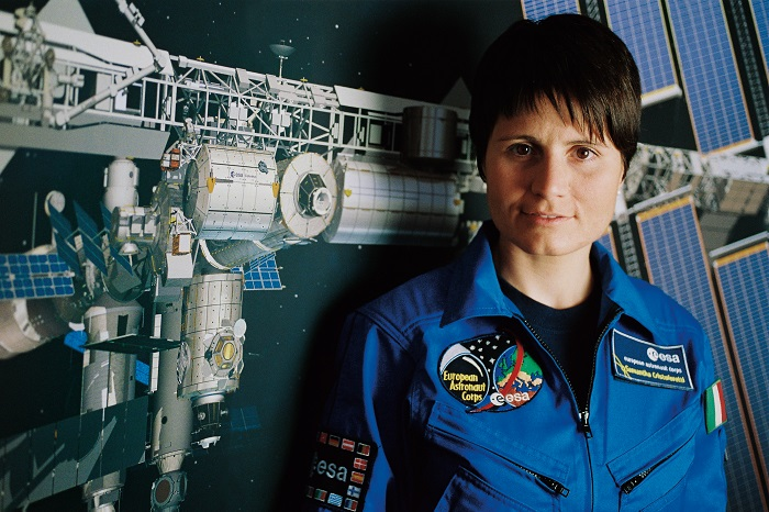 Samantha Cristoforetti, la prima donna italiana ad andare nello spazio
