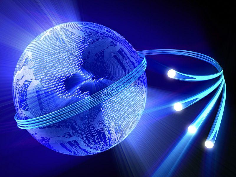 connessione a fibra ottica