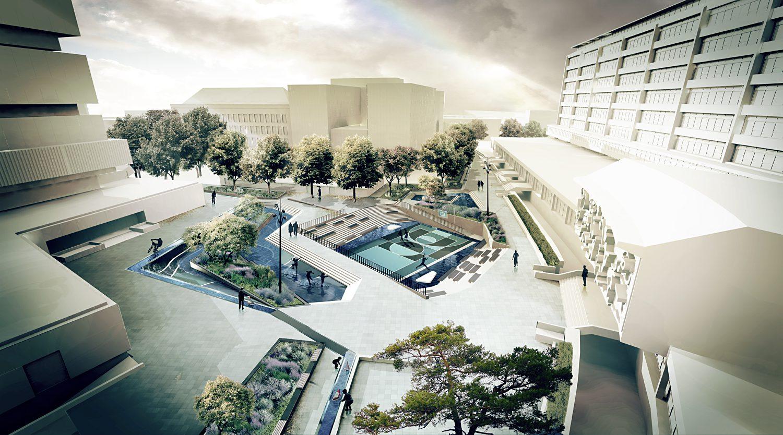 Sostenibilità, a Rotterdam nascono le piazze d'acqua