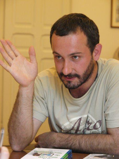 """Michele Dotti, autore del libro """"Sbagliando non si impara"""""""