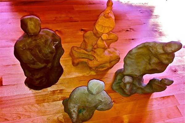 sculture in creta arte antroposofica
