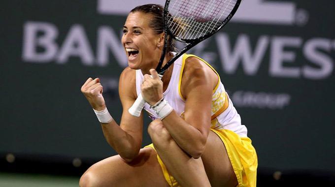 Indian Wells, Flavia Pennetta è la prima italiana a vincere il torneo californiano