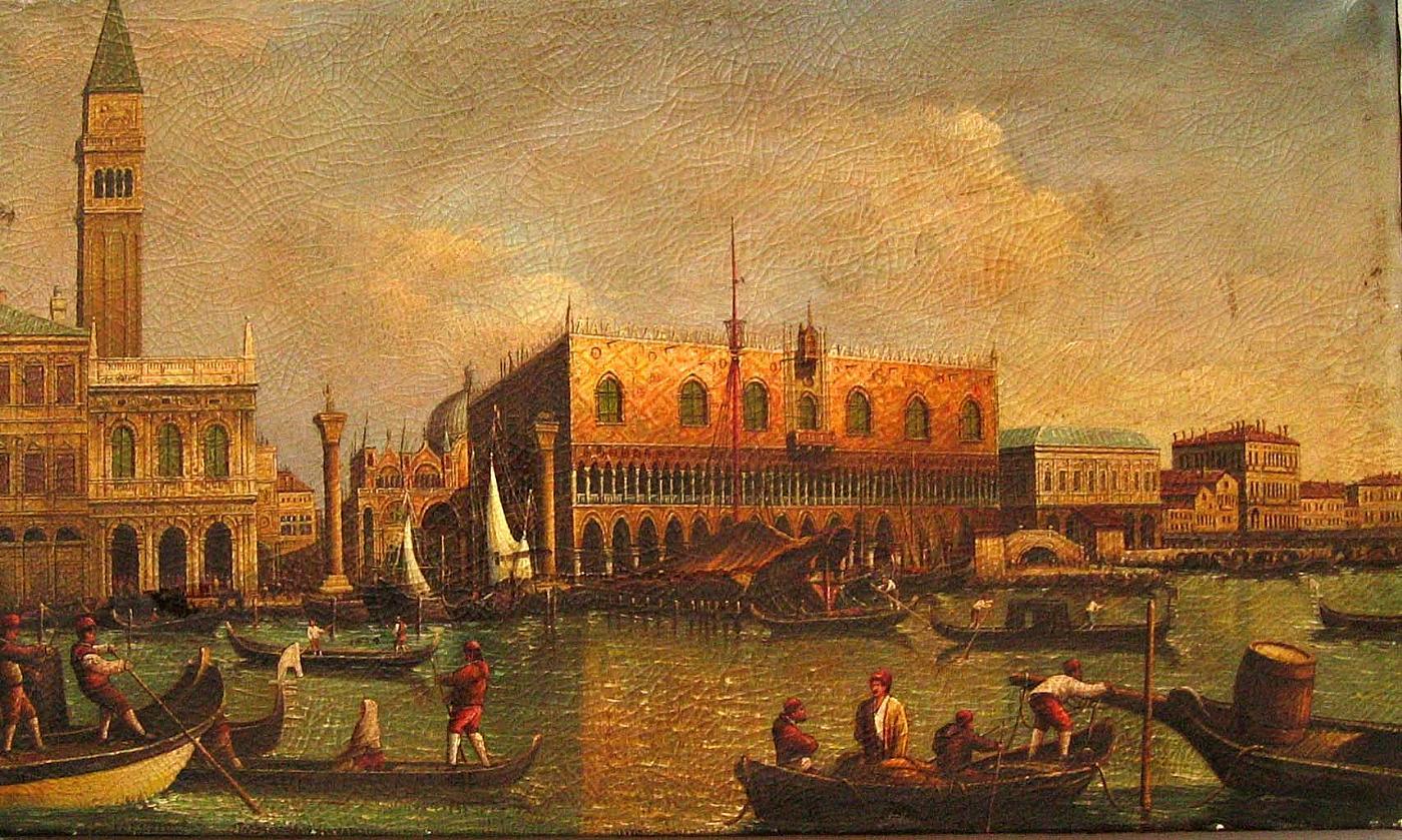 Canaletto - Veduta del Palazzo Ducale di Venezia