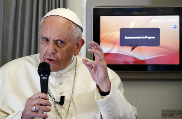 Papa Francesco (Lapresse-REUTERS/ Stefano Rellandini)