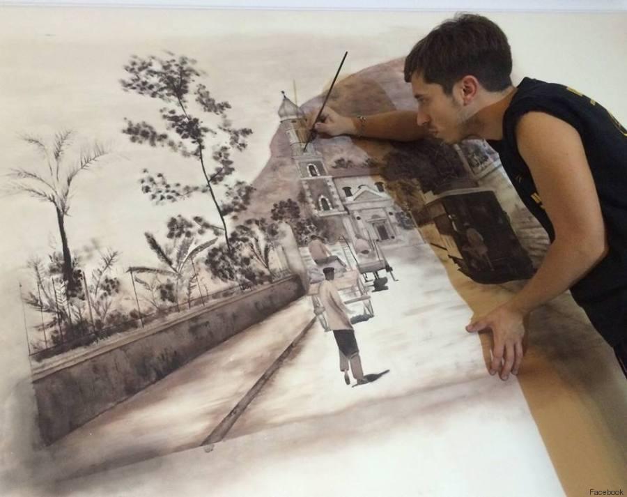 """""""Volevo fare l'ingegnere, ma ho scoperto di saper disegnare"""": la storia di Andrea fa credere nei sogni"""