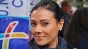 Giusi Versace, campionessa paraolimpica di atletica leggera, detentrice del record italiano dei 200mt ed europeo dei 100mt.