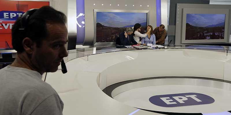 La TV pubblica greca ERT riprende le trasmissioni