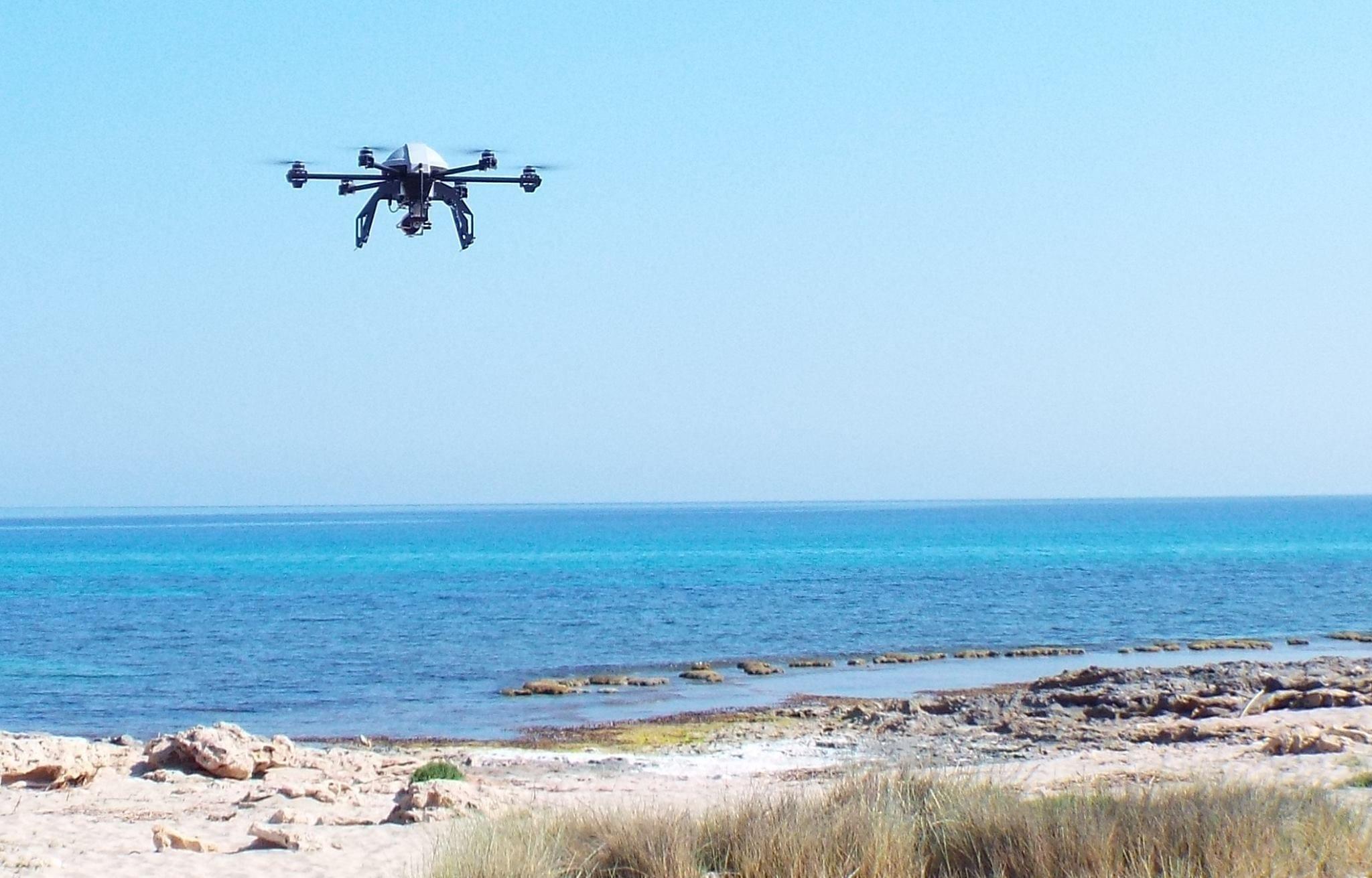 Egadi: droni per il monitoraggio dell'area marina protetta