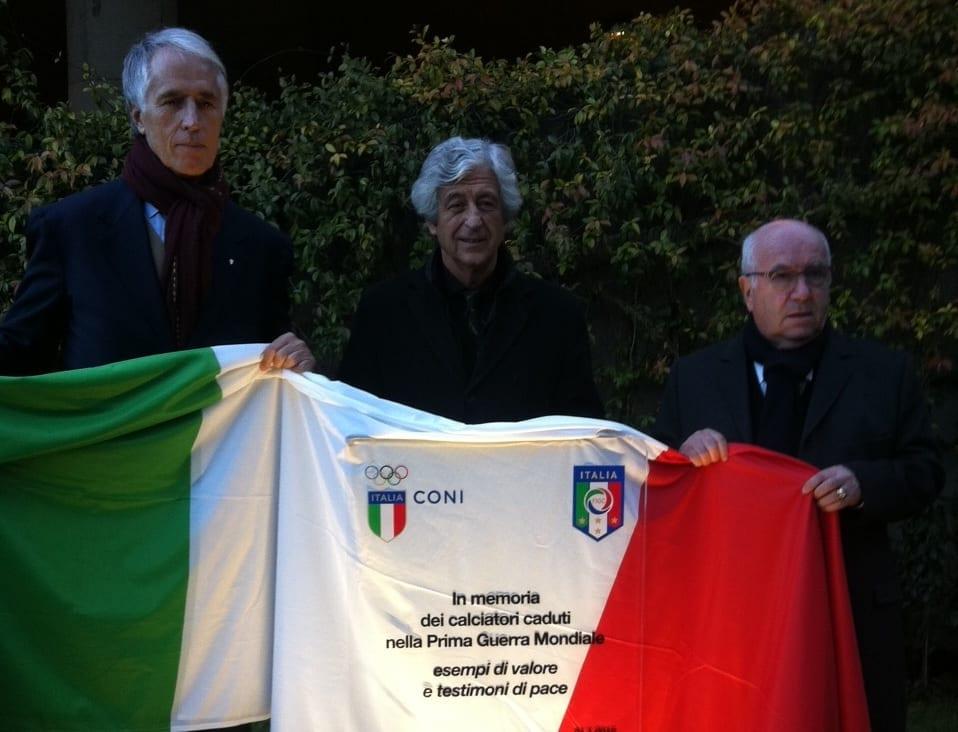 Calcio: Figc celebra caduti Grande Guerra, 'senza memoria non c'è futuro'