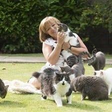 C'era una volta… una signora inglese. E una villa con 122 gatti