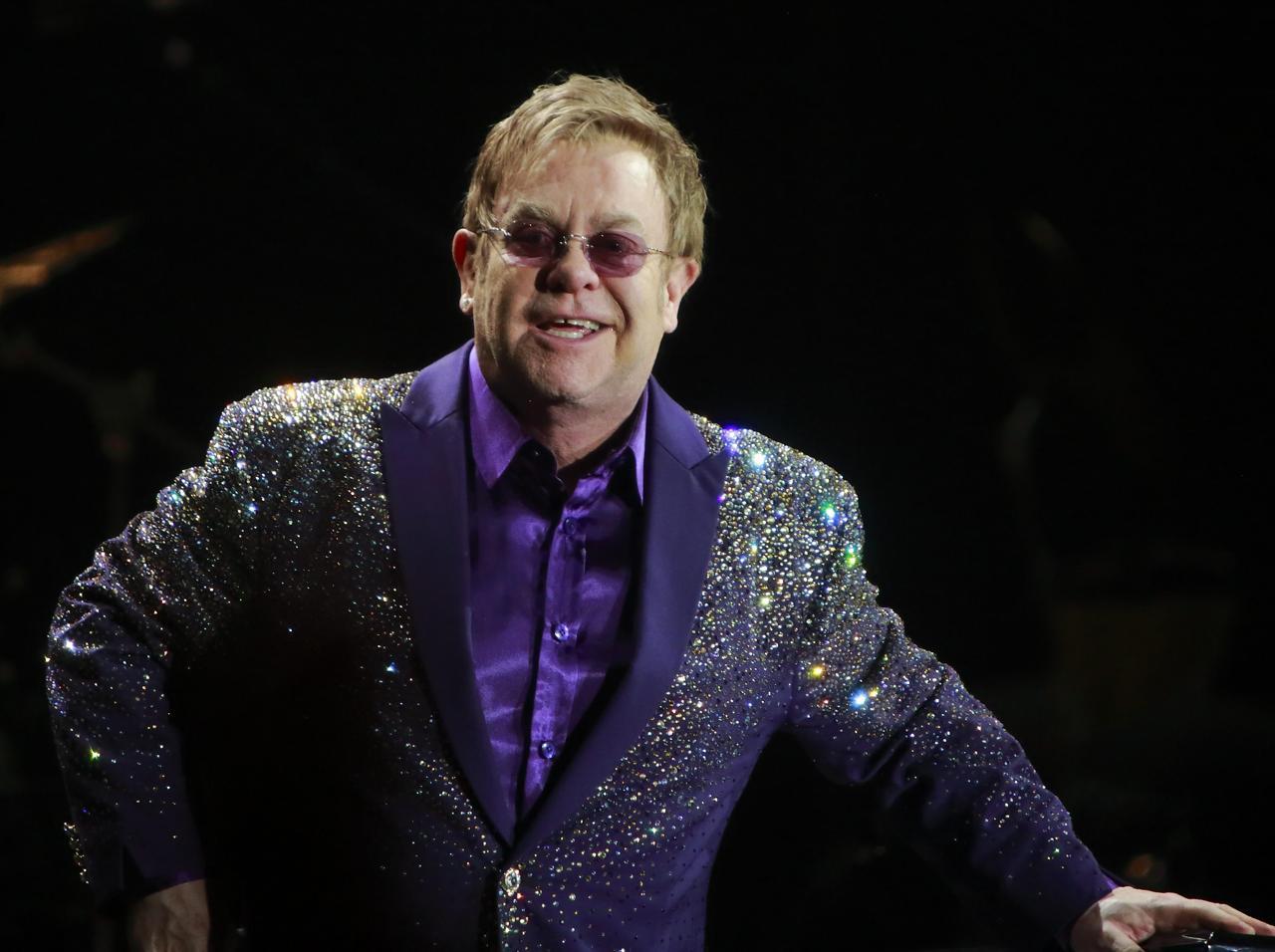 Musica: Elton John a Roma, in concerto alle Terme di Caracalla il 12 luglio