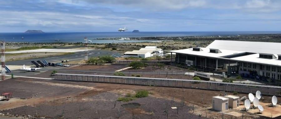 Il primo aeroporto eco del mondo è alle Galapagos