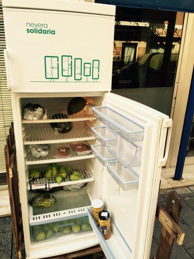 In Spagna il primo frigorifero solidale