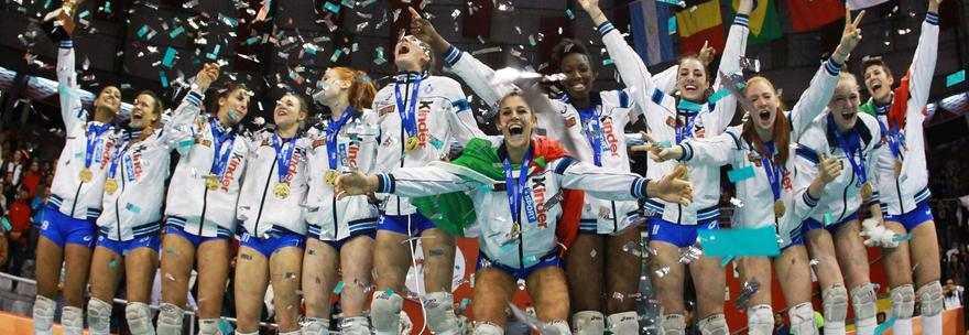 La giovane Italia del volley nella storia: la nazionale under 18 è campione del mondo