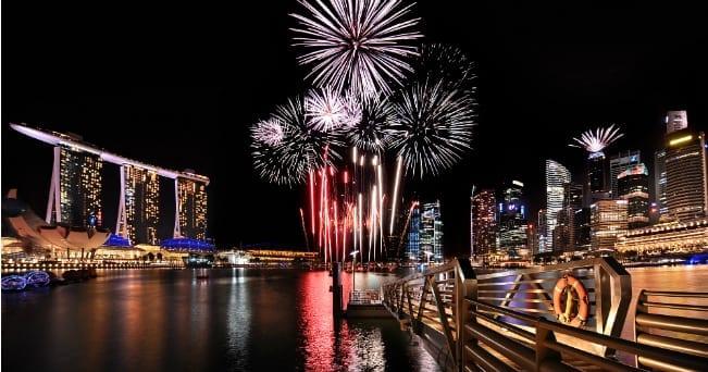 Singapore in festa per il giubileo d'oro