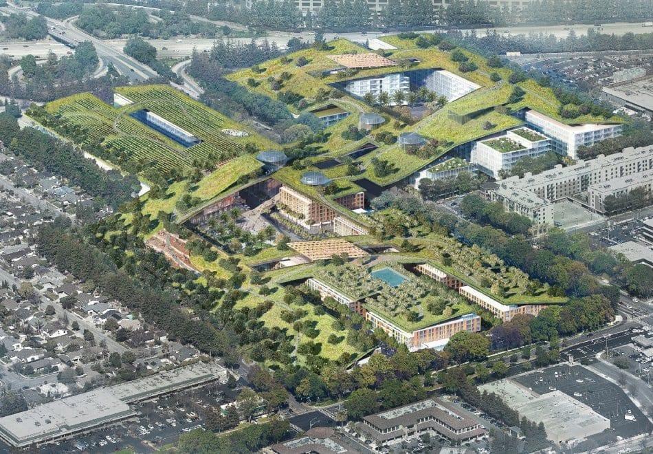 Nella Silicon Valley il più grande tetto verde al mondo