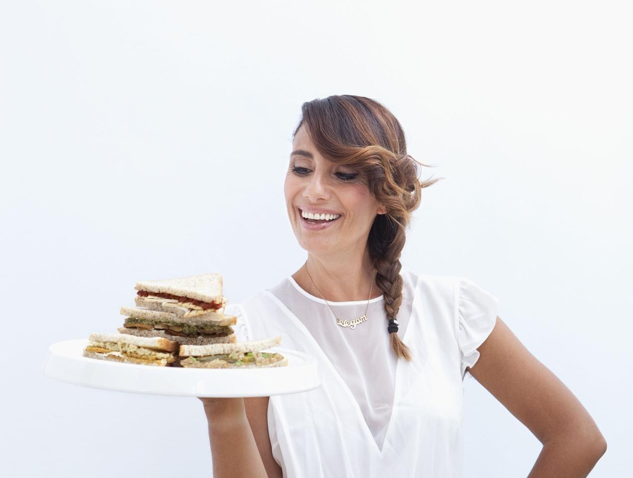 Alimenti: Paola Maugeri lancia una linea di tramezzini biovegani