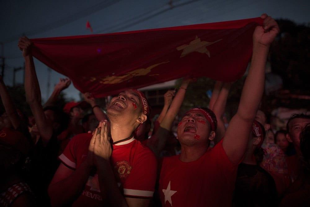 Il partito di Aung San Suu Kyi verso la vittoria in Birmania.