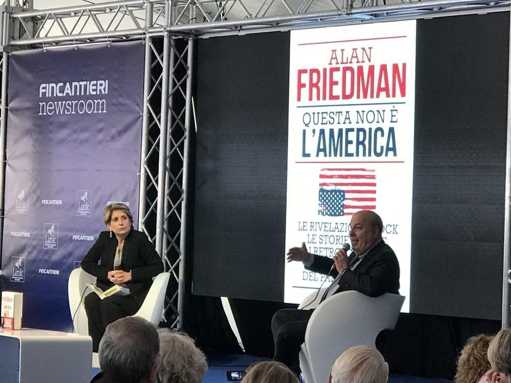 A Trieste il festival del buon giornalismo con Alan Friedman