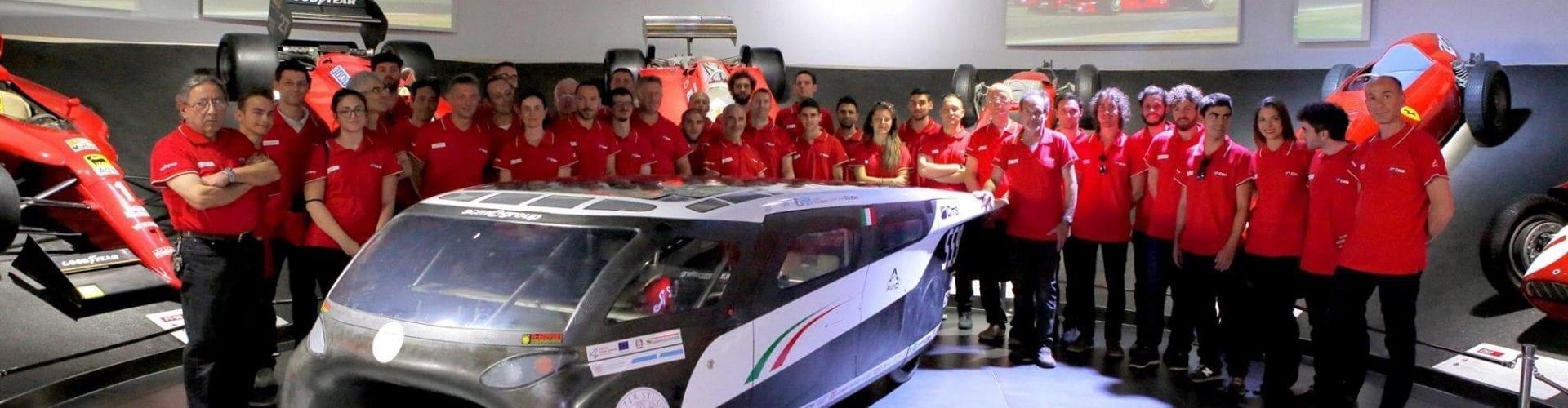 L'auto elettrica tutta italiana che attraverserà il deserto americano