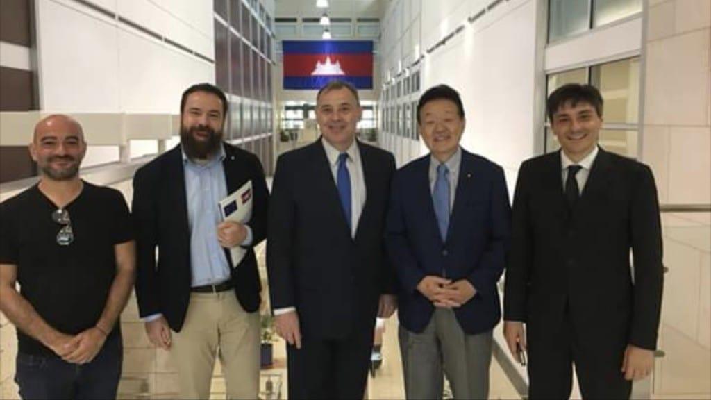 Incontro delle delegazione con ambasciatori Europei e Americani
