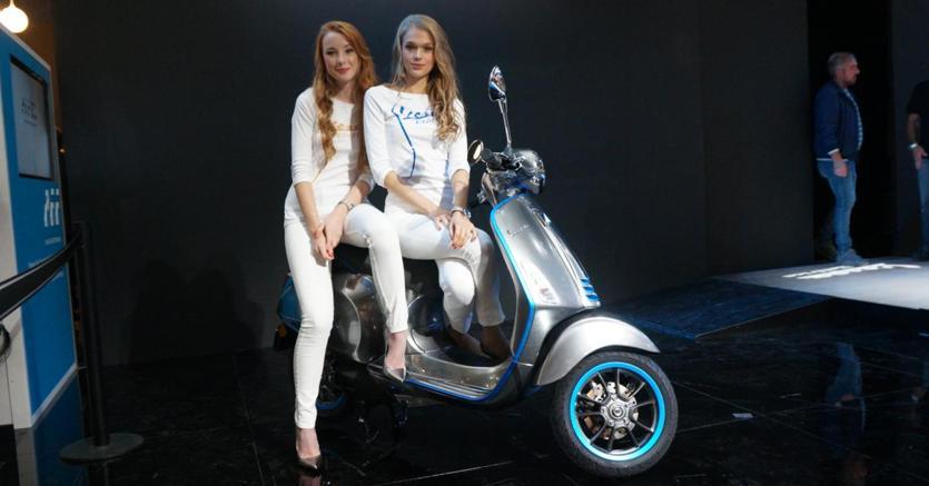 La Vespa Elettrica in produzione a settembre