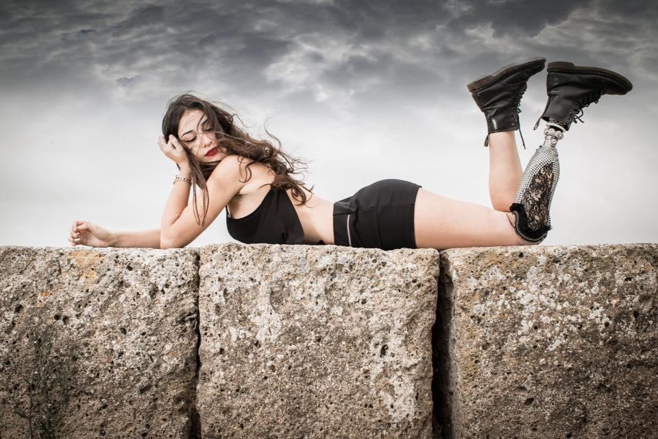 """La """"modella bionica"""" Chiara Bordi è arrivata terza a Miss Italia"""