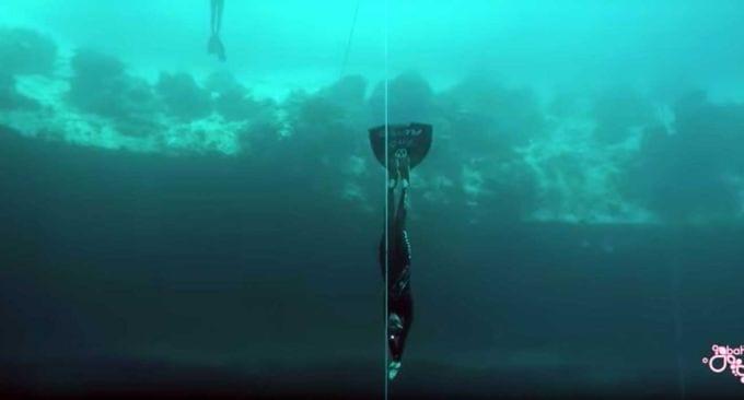 Il record spettacolare di Alessia Zecchini: 107 metri di immersione con un unico respiro