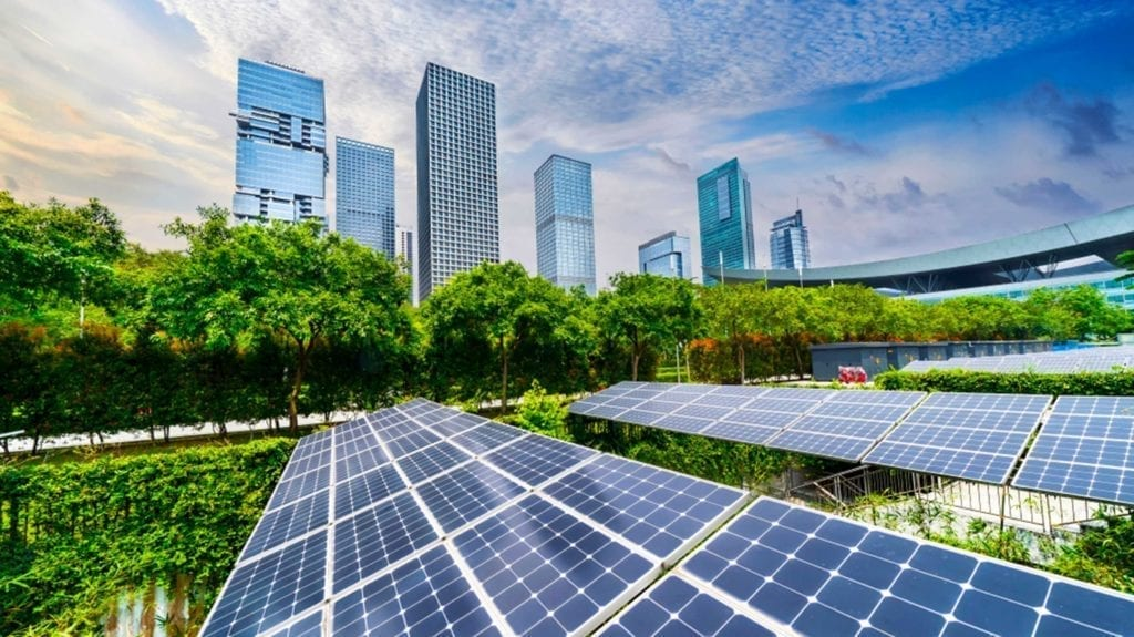 Green Building: unire architettura e natura. Pannelli solari, alberi e grattacieli